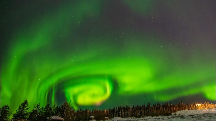 Northern Lights amaze Alaska residents