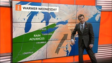 Coastal storm may impact Northeast during first days of spring