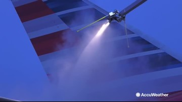 Behind the scenes with American Airlines' deicing operations