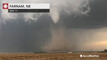 HIGHLIGHTS: Multiple tornadoes touch down as storm chasers capture the outbreak
