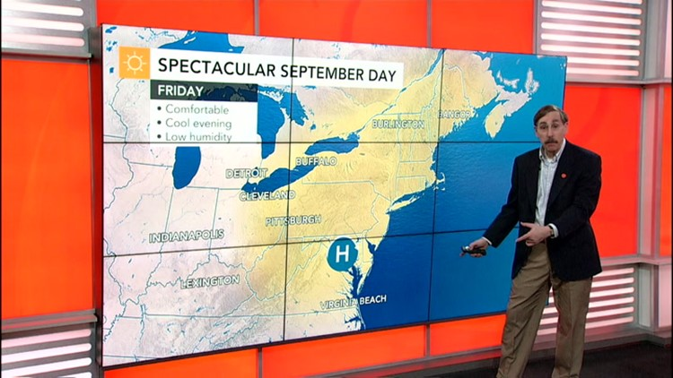 Warming in the East through the weekend, tropics still stir up