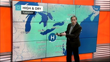 Slow warmup this week in the East, but snow and rain possible Thursday into Friday