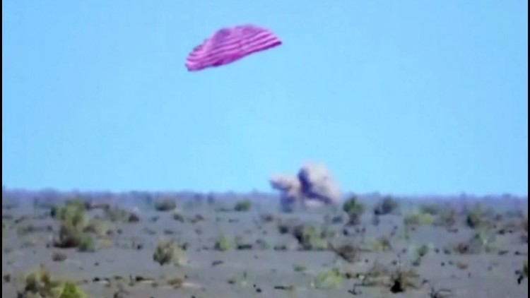 Chinese Astronauts Return to Earth After 3-Month Mission in Space