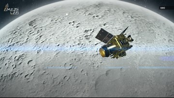 India Spacecraft Enters Moon's Orbit to Prep for Landing Attempt
