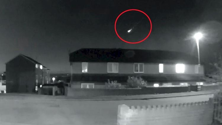 Once in a Lifetime Meteor Caught on Doorbell Camera as Fireball Illuminates Night Sky