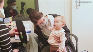 Heartwarming Footage Shows Baby Hearing Mother's Voice for the First Time!