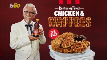 Get it While it's Hot! KFC is Bringing Back Chicken & Waffles