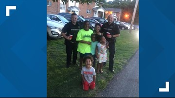 After a call about kids' lemonade stand, police officers buy drinks instead of shutting it down