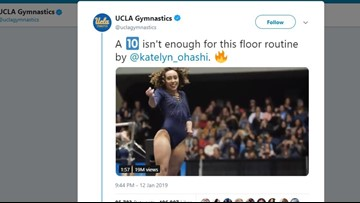 'A 10 isn't enough' | Flawless gymnastics routine goes viral