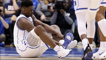 Nike probing Zion shoe malfunction that led to injury