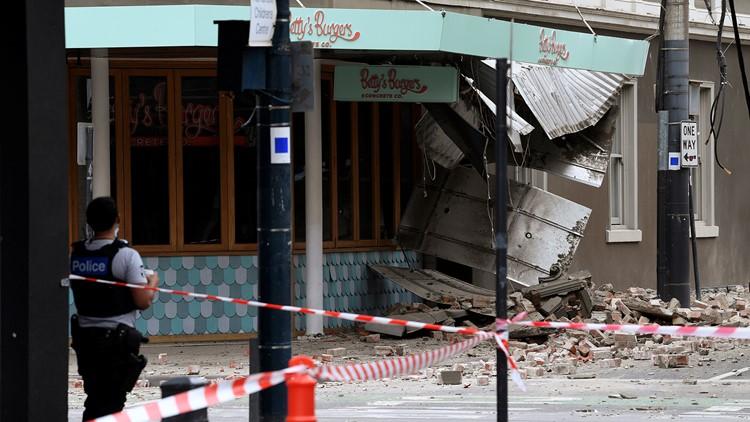 Unusually strong earthquake hits Australia