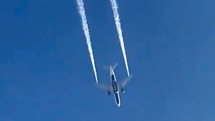 Aircraft Fuel Dump AP Jan 14
