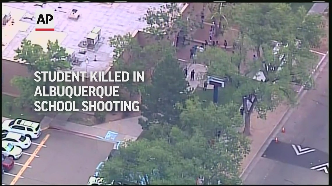 Albuquerque school shooting leaves one dead