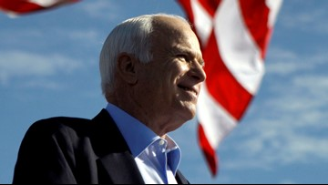 GOP senators defend John McCain as Trump attacks again