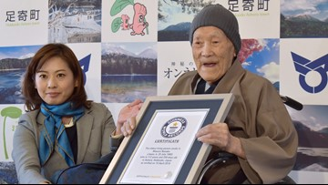 World's oldest man, 113, dies at his home in northern Japan