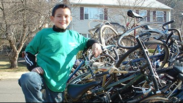 Years after their trip to Africa, this mother and son have sent thousands of bikes to Africa