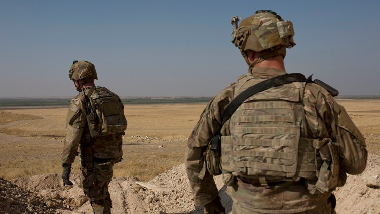 US troops leaving Syria will go to western Iraq, Defense Secretary says