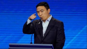 Yang's 2020 campaign reports raising $10M in third quarter