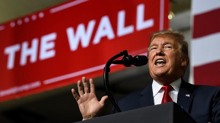 Trump El Paso Rally The Wall