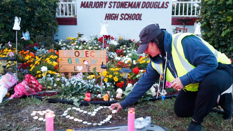 parkland shooting memorial one year later