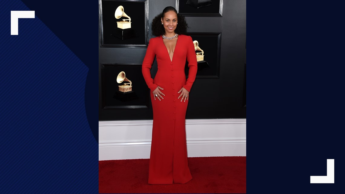 7eae78e96b7 Alicia Keys arrives at the 61st annual Grammy Awards at the Staples Center  on Sunday, Feb. 10, 2019, in Los Angeles.