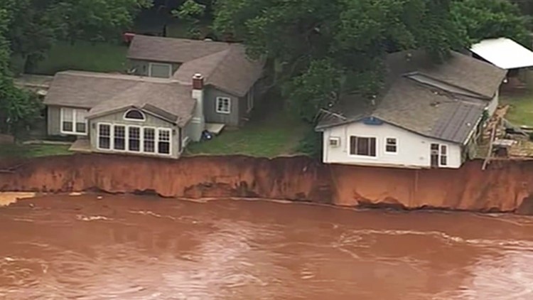 Rivers rising in waterlogged central US; more rain to come