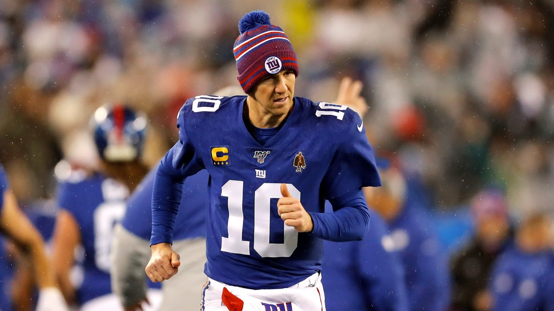 New York Giants QB Eli Manning retiring after 16 NFL seasons