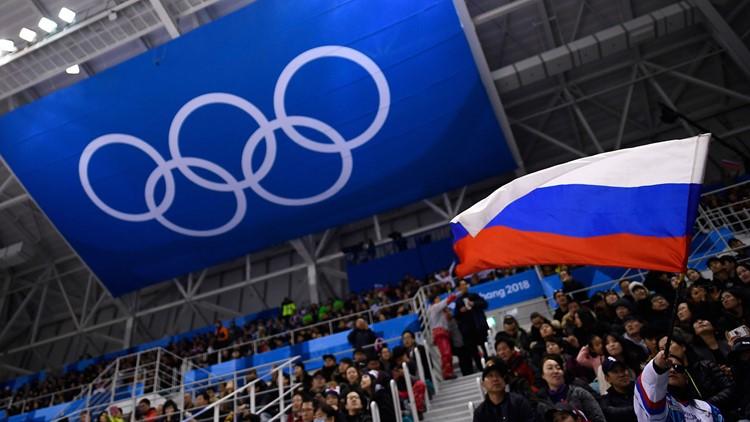 russian flag olympics