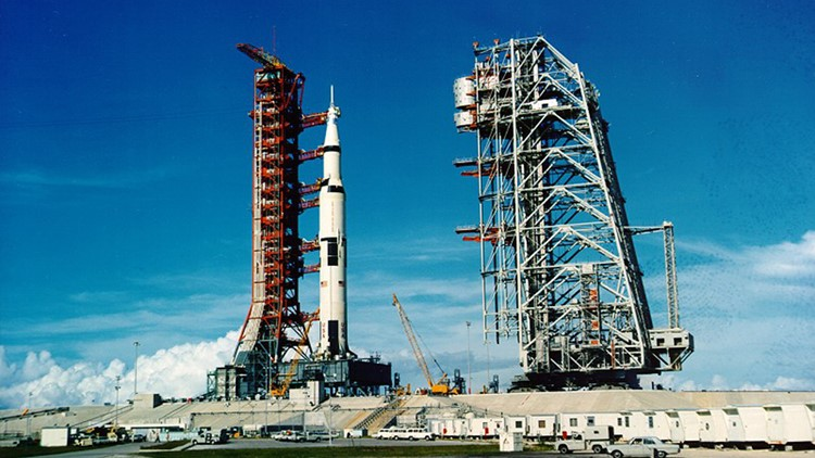 Apollo 11 Saturn V rocket