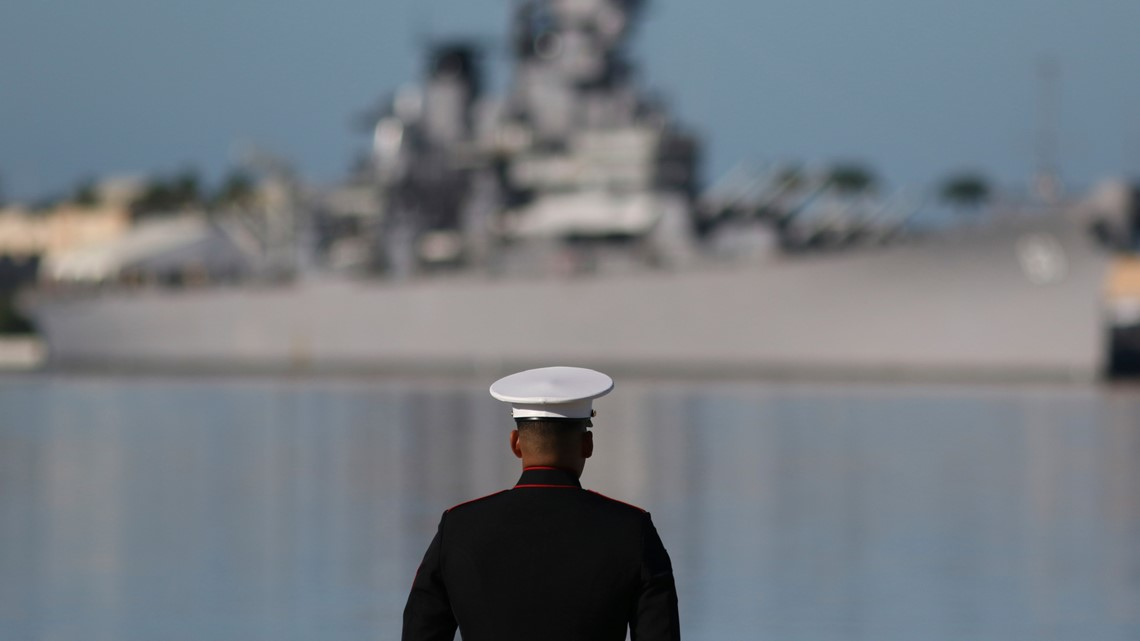 Survivors return to Pearl Harbor to remember 1941 attack