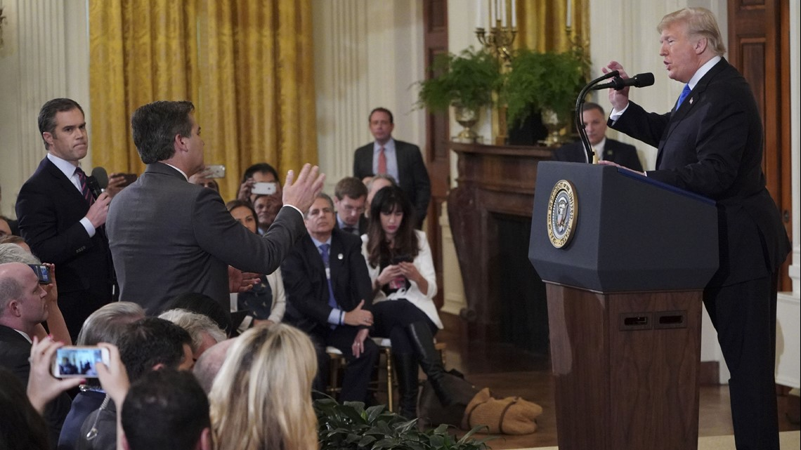 VERIFY: Did Sarah Sanders share a doctored video of Jim Acosta?