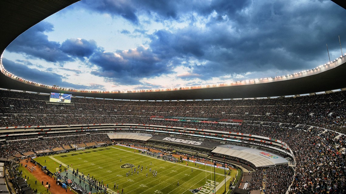 NFL moves Chiefs-Rams game from Mexico City to Los Angeles