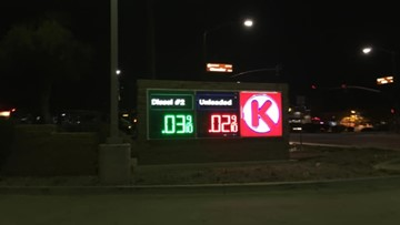 Glitch in the gas tank? Drivers shocked to see 2 cent gas in Phoenix