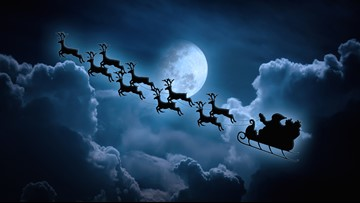 Where's Santa Claus? Track his journey across the world on Christmas Eve