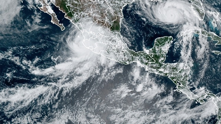 Tropical Storm Nora fading, after leaving 1 dead, 7 missing
