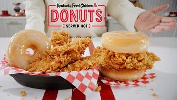 KFC launching Fried Chicken & Donuts combo nationwide Monday