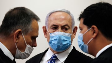 Israel Prime Minister Netanyahu attacks justice system as corruption trial begins