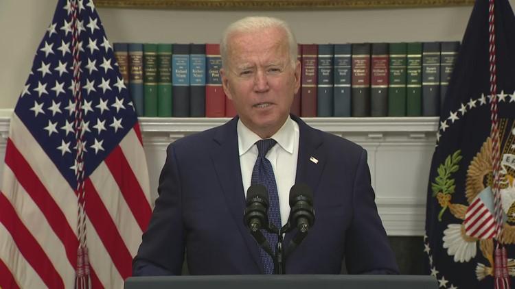 Biden gives updates on Henri