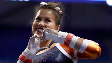 Auburn gymnast's plea: 'My pain is not your entertainment'