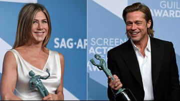 'Parasite' wins at SAG Awards, Brad Pitt and Jennifer Aniston do too
