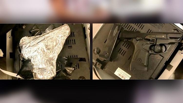 Foil gun