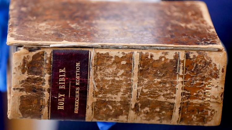 Bible 1615 recovered Rare Book Thefts