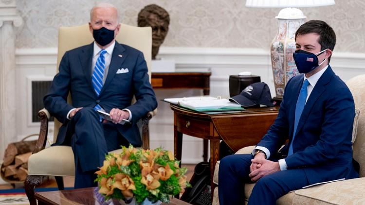 New to DC, Buttigieg looks to build bridges with Biden plan