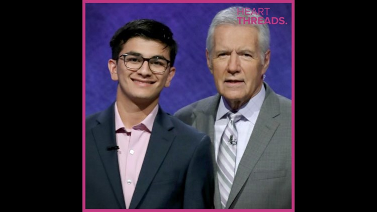 Teen Jeopardy champ donates $10,000 in honor of Alex Trebek