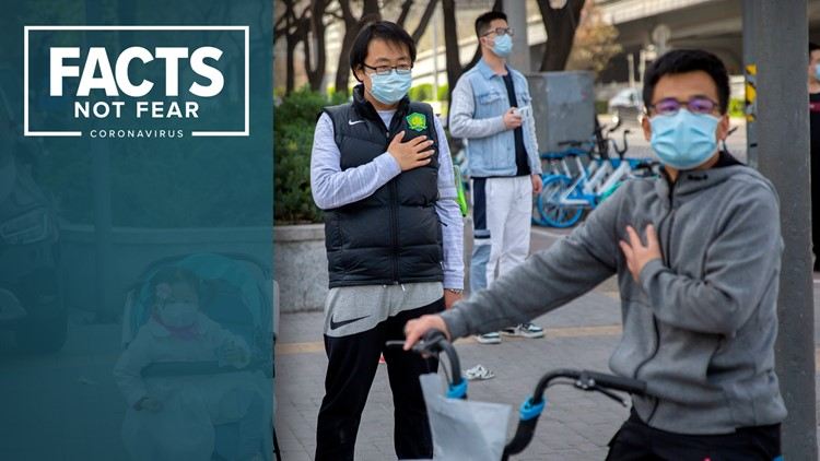 Coronavirus live updates: US deaths top 7,100; China holds 3 minutes of reflection to honor victims