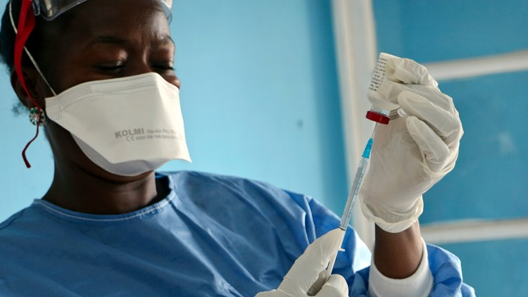 Ebola Vaccine Stockpile AP