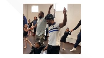 'It's cool to be a good dad' | Watch these dads adorably crash their daughters' ballet class