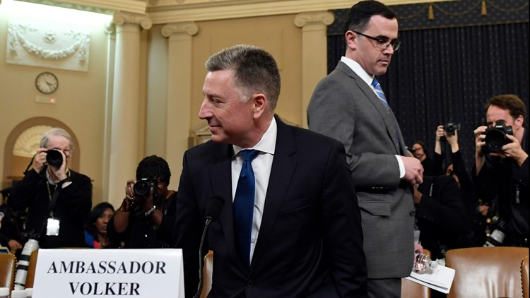Watch live: Impeachment hearing resumes with Volker, Morrison testimony