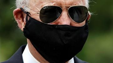 Biden accuses Trump of mocking masks during pandemic