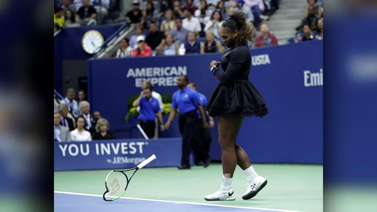 APTOPIX US Open Tennis Serena